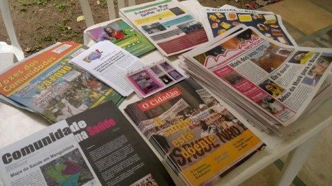 jornais comunitarios (por Gizele Martins)